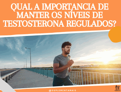 Qual a importância de manter os níveis de testosterona regulados?